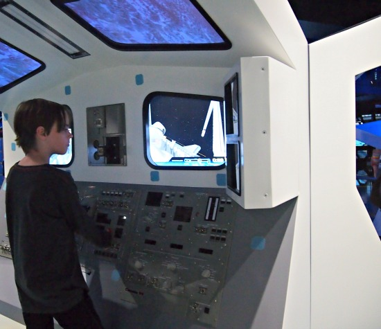 Learning about Space Travel Kennedy Space Centre