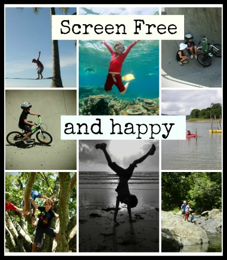 Screen free days.