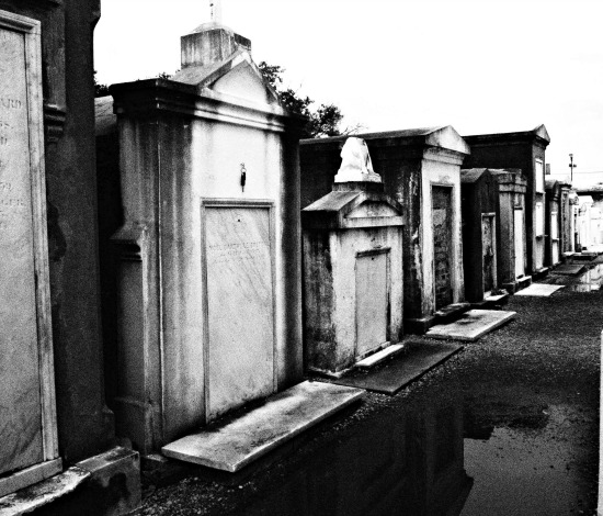 Homeschooling in New Orleans visiting Cities of the Dead