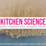 Kitchen Science easy homeschool science ideas