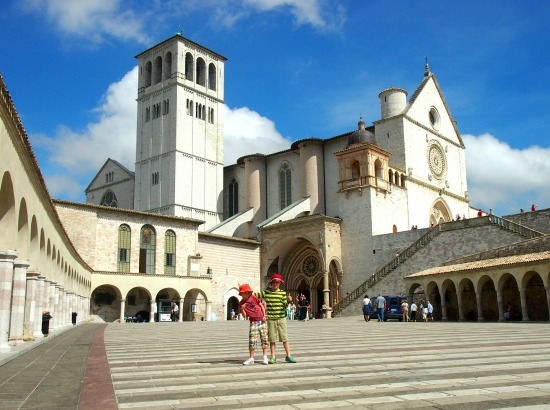 Italy educational holiday Assisi