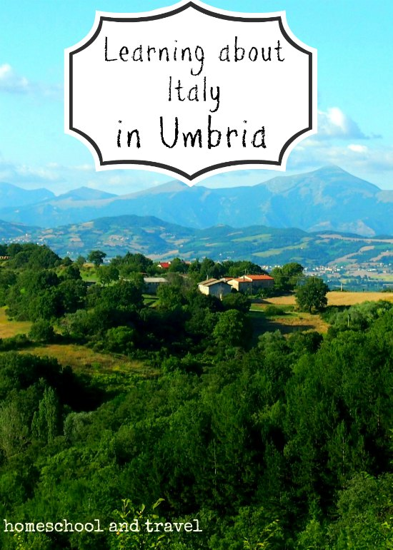 Learninng about Italy in Umbria