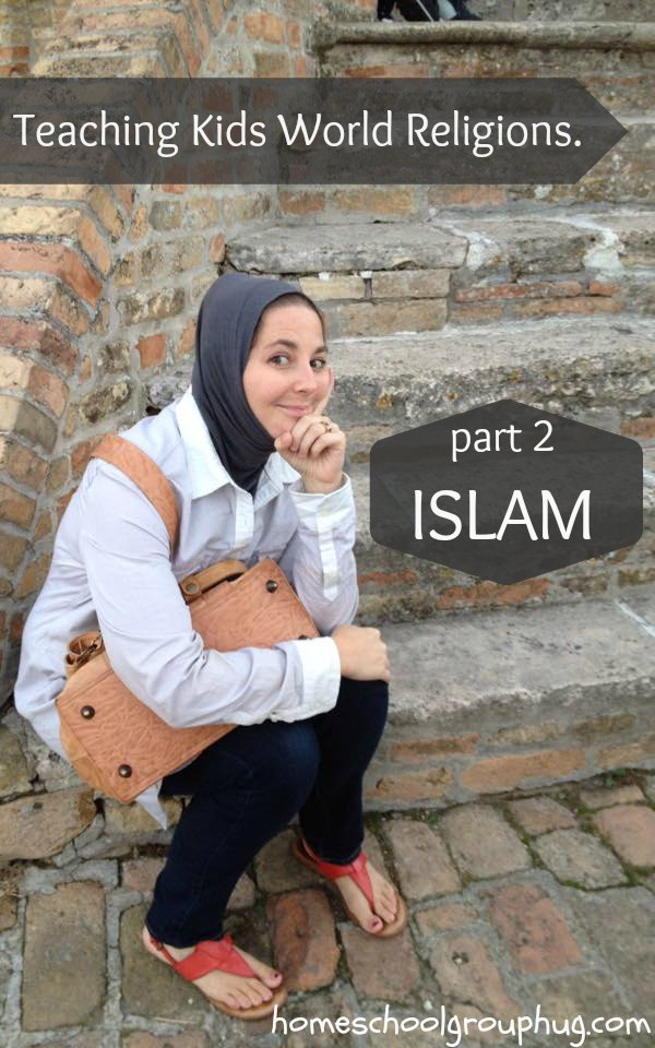 Teaching kids world religions series. How to teach kids about Islam by Amanda Moutaki