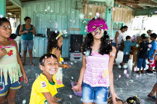 Celebrating carnaval in Moura