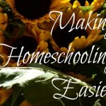 making homeschooling easier on everyone