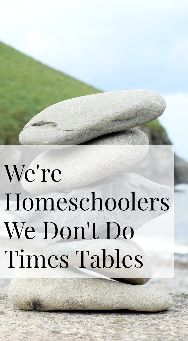 Do Homeschoolers do Times Tables
