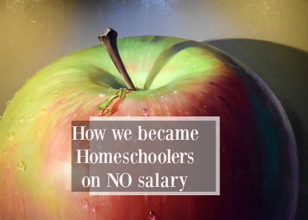 homeschooling on no salary or income