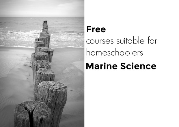 Free courses suitable for hmeschoolers marine science