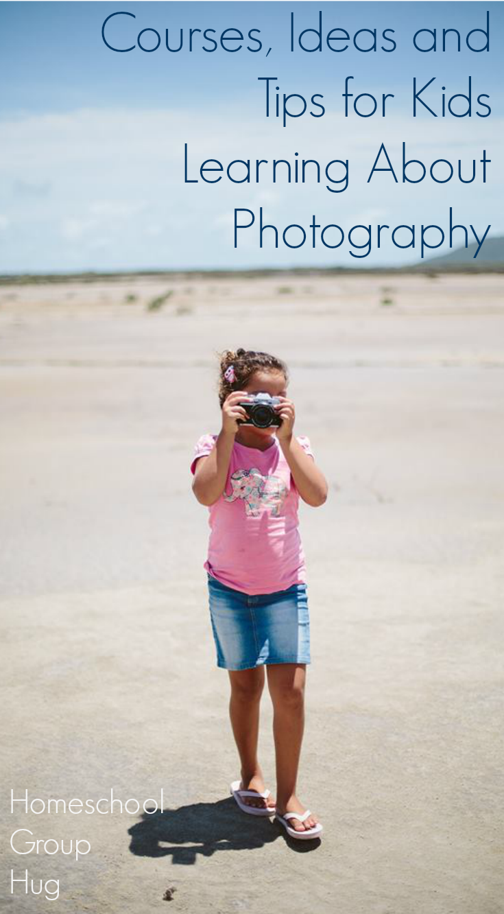Learning about Photography for kids