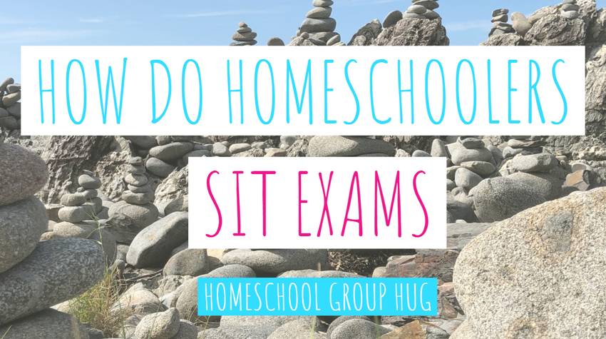 How do homeschoolers sit exams