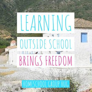 Learning Outside School Brings Freedom