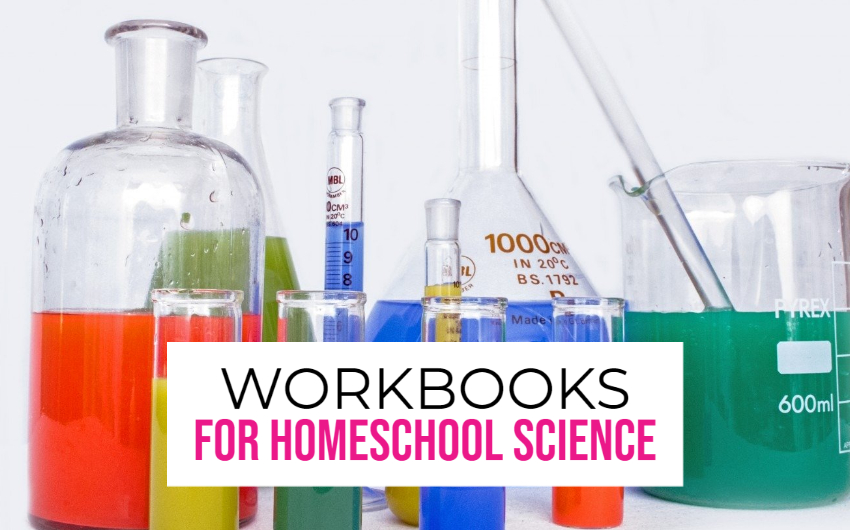 science laboratory equipment workbooks for homeschooling science
