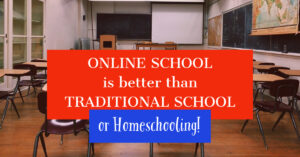 why online school is better school classroom traditional