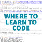 Where to learn to code HTML CSS